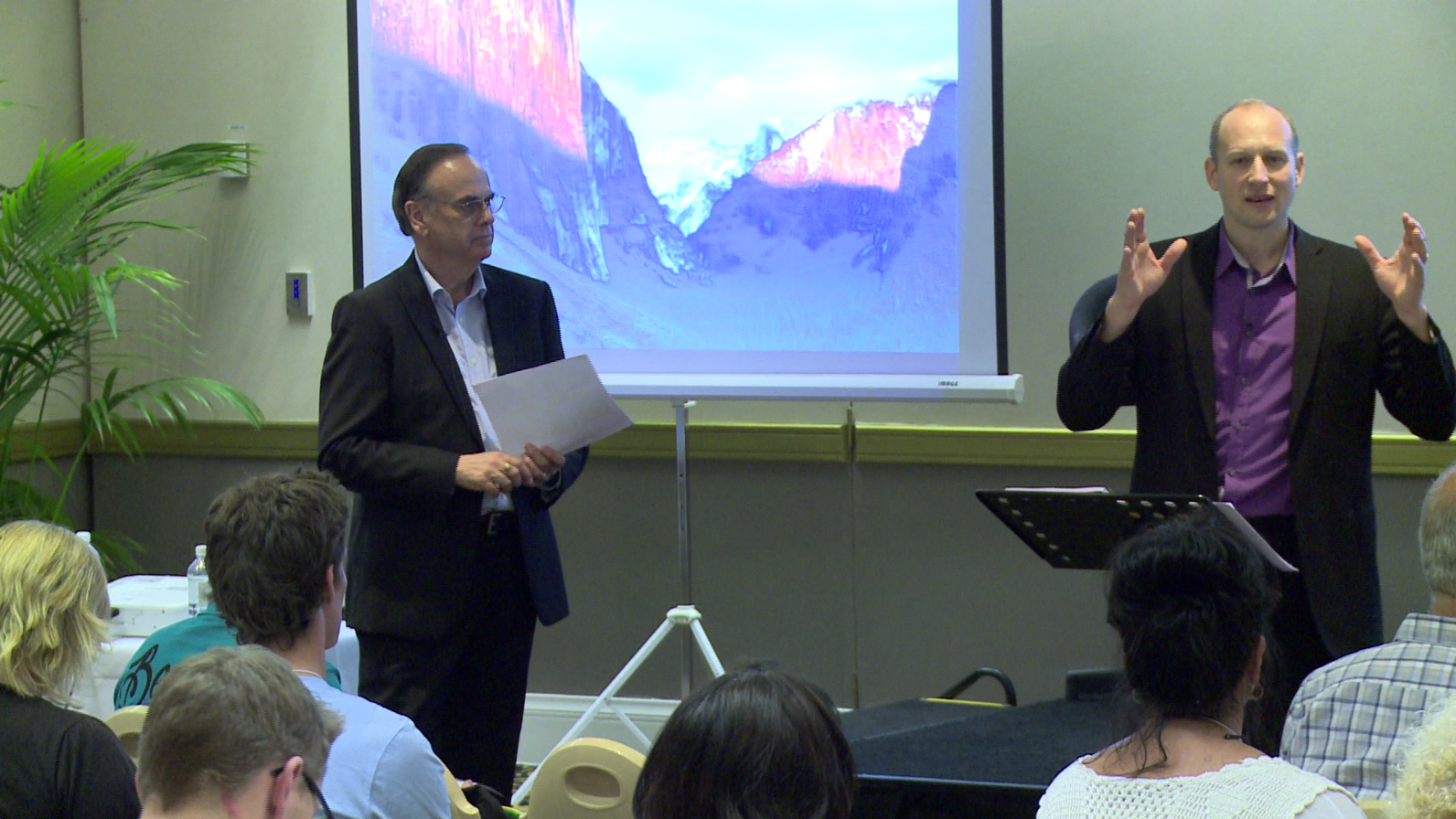 Scott and Greg as Corporate Trainers in Sydney - Employee Engagment - Leadership Training