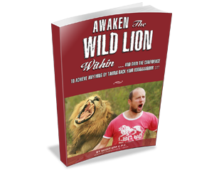 Book awaken the wild lion